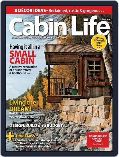 Cabin Life (Digital) July 25th, 2014 Issue Cover