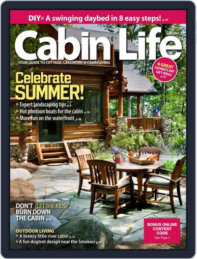 Cabin Life (Digital) May 2nd, 2014 Issue Cover