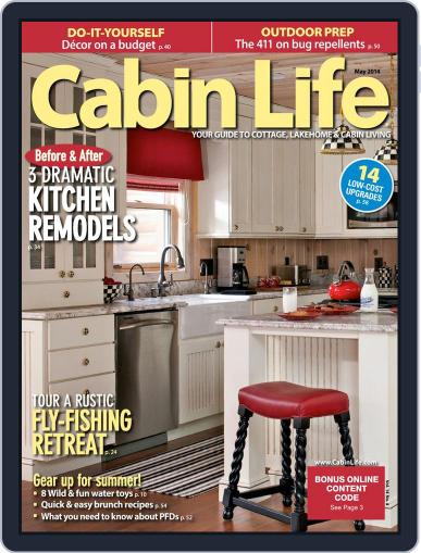 Cabin Life (Digital) March 21st, 2014 Issue Cover