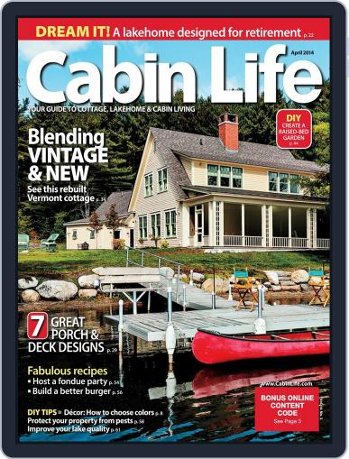 Cabin Life (Digital) February 14th, 2014 Issue Cover