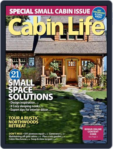 Cabin Life (Digital) December 20th, 2013 Issue Cover