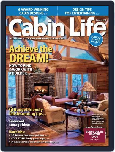 Cabin Life (Digital) July 27th, 2013 Issue Cover