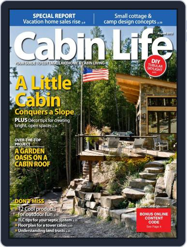 Cabin Life (Digital) June 1st, 2013 Issue Cover