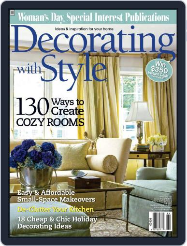 Budget Decorating Ideas October 29th, 2008 Digital Back Issue Cover