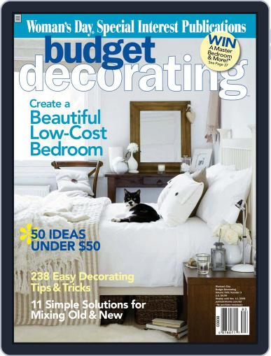 Budget Decorating Ideas July 16th, 2008 Digital Back Issue Cover