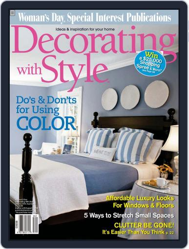 Budget Decorating Ideas April 22nd, 2008 Digital Back Issue Cover