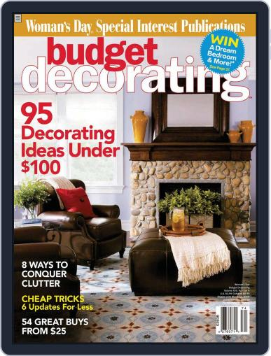 Budget Decorating Ideas November 19th, 2007 Digital Back Issue Cover
