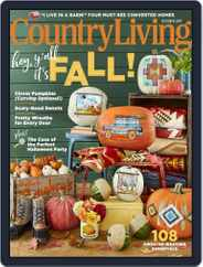 Country Living (Digital) Subscription October 1st, 2017 Issue