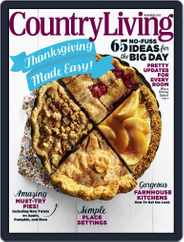 Country Living (Digital) Subscription November 1st, 2015 Issue