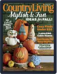 Country Living (Digital) Subscription October 1st, 2015 Issue