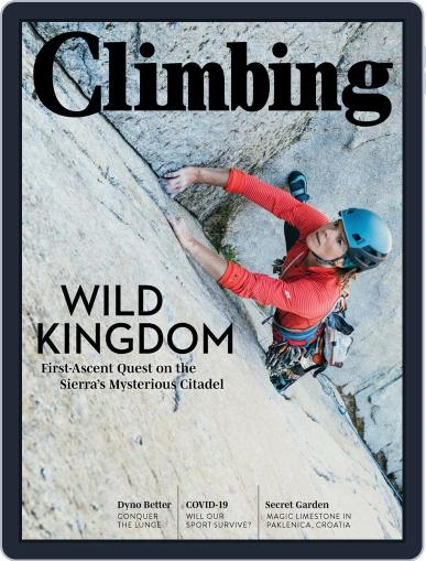 Climbing (Digital) July 1st, 2020 Issue Cover
