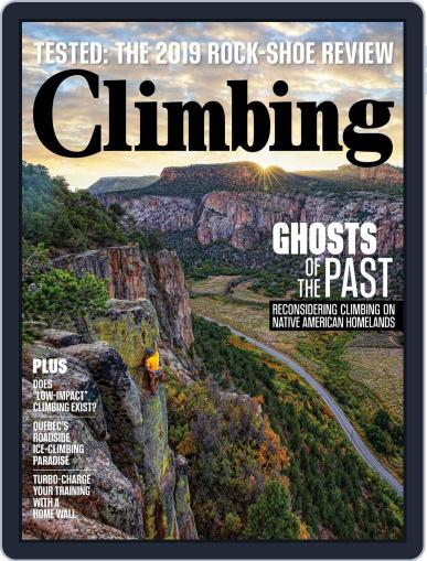 Climbing (Digital) October 1st, 2019 Issue Cover