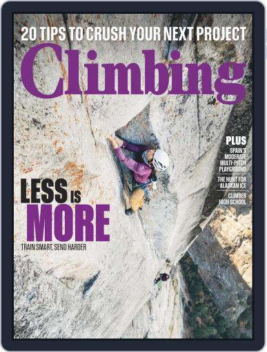 Climbing (Digital) January 1st, 2019 Issue Cover