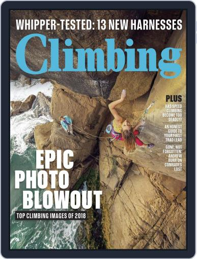Climbing (Digital) August 1st, 2018 Issue Cover