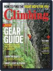 Climbing (Digital) Subscription March 22nd, 2016 Issue