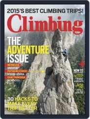 Climbing (Digital) Subscription November 1st, 2015 Issue