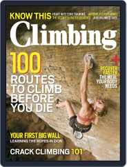 Climbing (Digital) Subscription October 1st, 2015 Issue