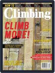 Climbing Magazine (Digital) Subscription April 30th, 2013 Issue