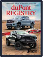 duPont REGISTRY (Digital) Subscription January 1st, 2020 Issue