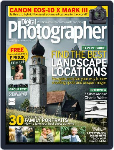 Digital Photographer June 1st, 2020 Issue Cover