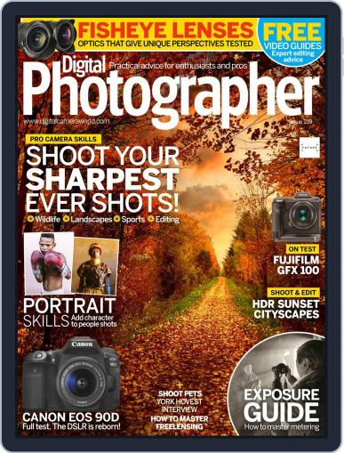 Digital Photographer February 1st, 2020 Issue Cover