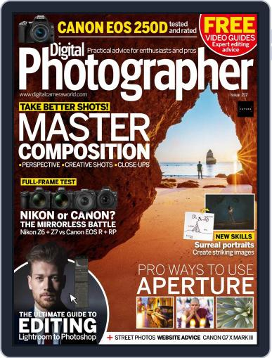 Digital Photographer January 1st, 2020 Issue Cover