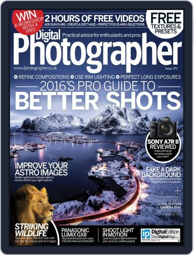 Digital Photographer February 1st, 2016 Issue Cover
