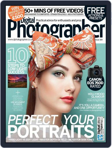 Digital Photographer January 1st, 2016 Issue Cover