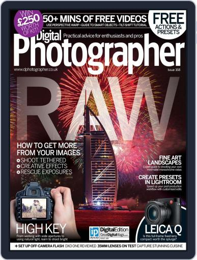 Digital Photographer December 1st, 2015 Issue Cover
