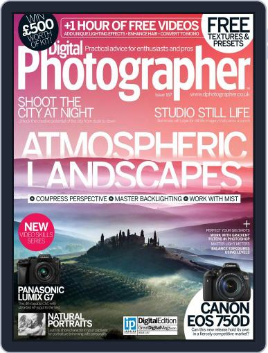 Digital Photographer November 1st, 2015 Issue Cover
