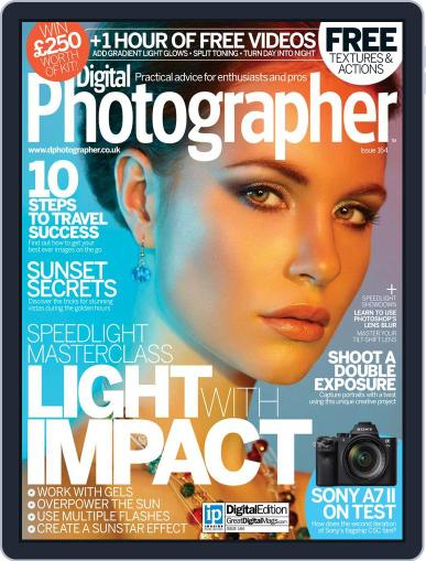 Digital Photographer August 1st, 2015 Issue Cover