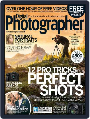 Digital Photographer July 1st, 2015 Issue Cover