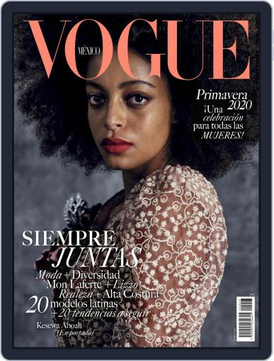 Vogue Mexico (Digital) March 1st, 2020 Issue Cover