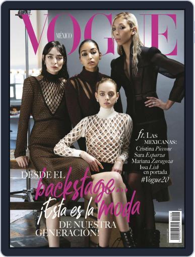 Vogue Mexico (Digital) September 1st, 2019 Issue Cover