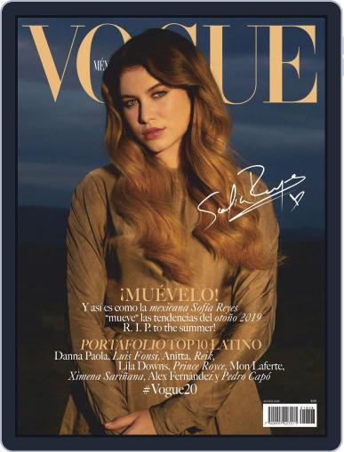 Vogue Mexico (Digital) August 1st, 2019 Issue Cover