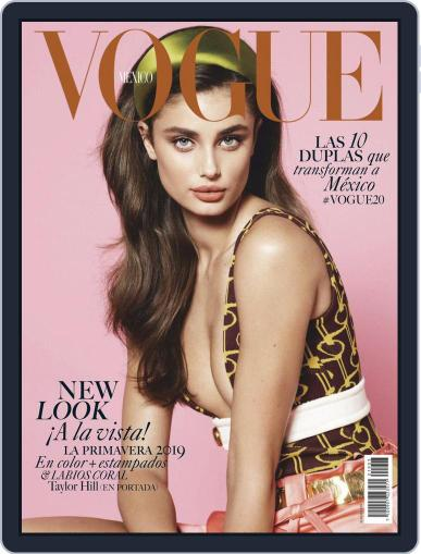 Vogue Mexico (Digital) March 1st, 2019 Issue Cover