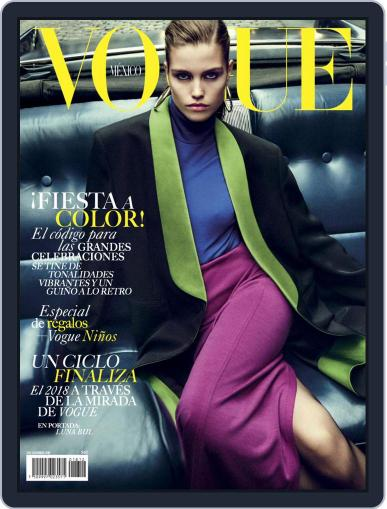 Vogue Mexico (Digital) December 1st, 2018 Issue Cover