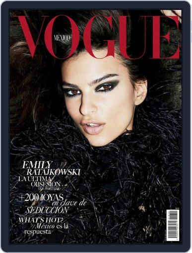 Vogue Mexico (Digital) October 1st, 2018 Issue Cover