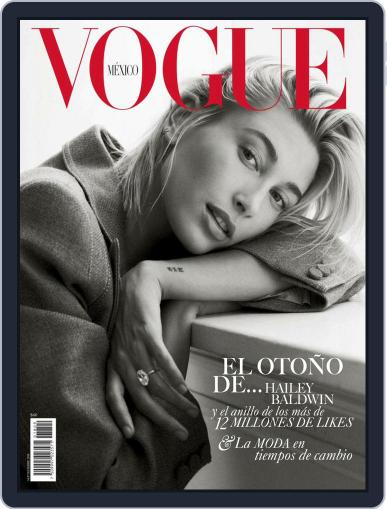 Vogue Mexico (Digital) September 1st, 2018 Issue Cover