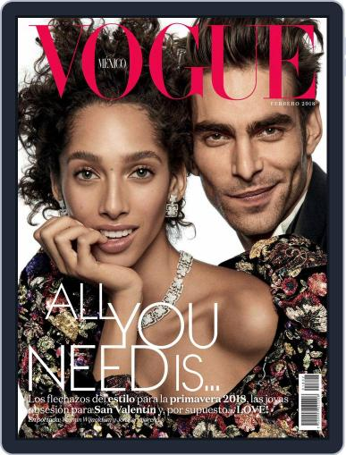 Vogue Mexico (Digital) February 1st, 2018 Issue Cover