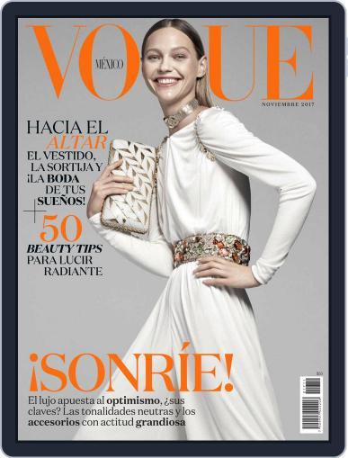 Vogue Mexico (Digital) November 1st, 2017 Issue Cover