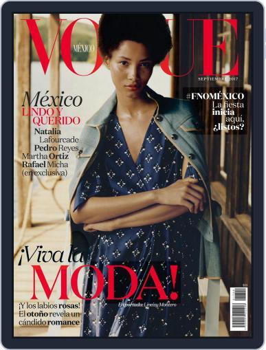 Vogue Mexico (Digital) September 1st, 2017 Issue Cover