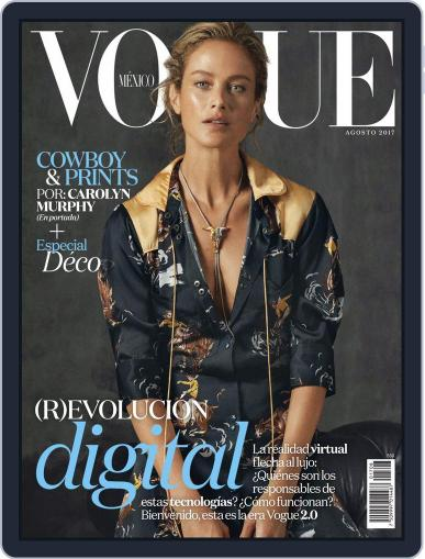 Vogue Mexico (Digital) August 1st, 2017 Issue Cover