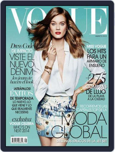 Vogue Mexico (Digital) August 1st, 2014 Issue Cover