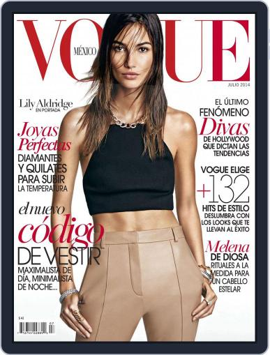 Vogue Mexico (Digital) July 1st, 2014 Issue Cover