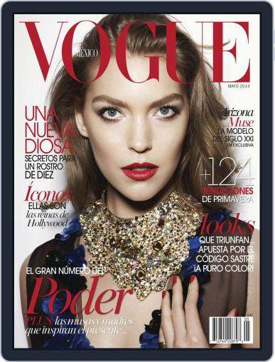 Vogue Mexico (Digital) May 1st, 2014 Issue Cover