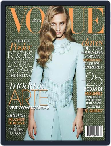 Vogue Mexico (Digital) February 1st, 2014 Issue Cover
