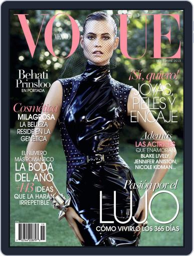 Vogue Mexico (Digital) November 4th, 2013 Issue Cover
