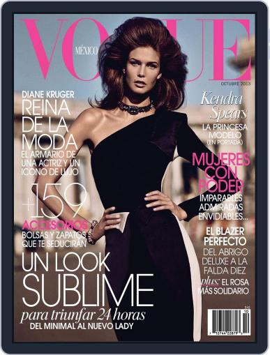 Vogue Mexico (Digital) October 2nd, 2013 Issue Cover