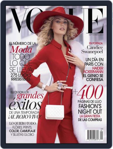 Vogue Mexico (Digital) September 4th, 2013 Issue Cover